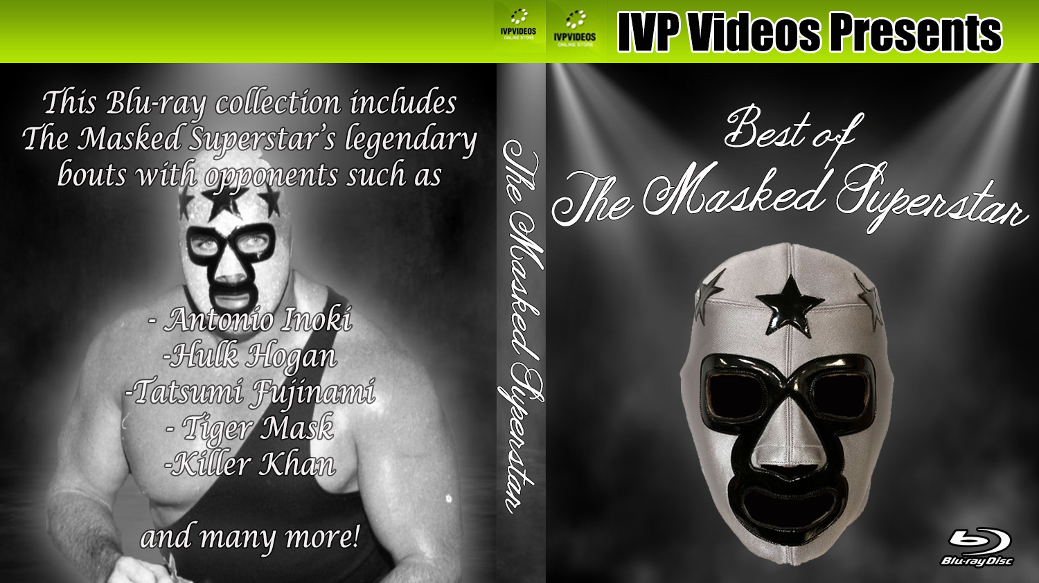 Best of Masked Superstar (Blu-Ray with Cover Art)